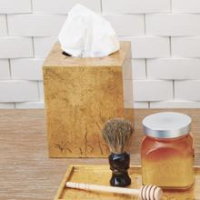 Luxe Gold Leaf Tissue Box