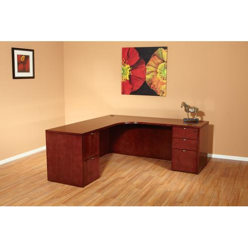Kenwood Right Curved Corner Credenza, 72x36