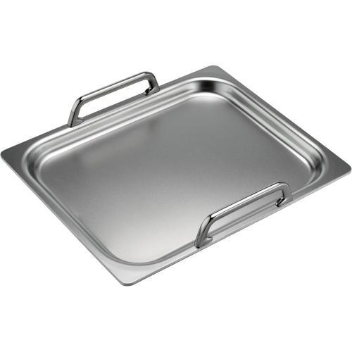 "Stainless Steel Teppanyaki Griddle 10"" x 13"" TEPPAN1013"
