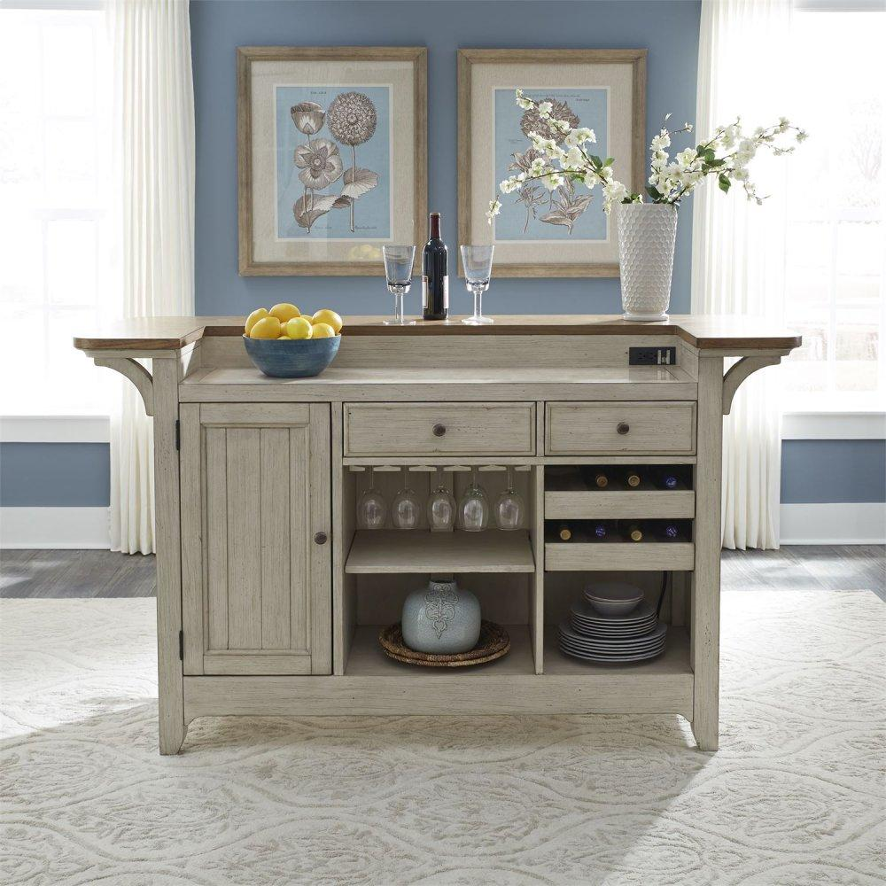 Bar Base w/ Marble Top