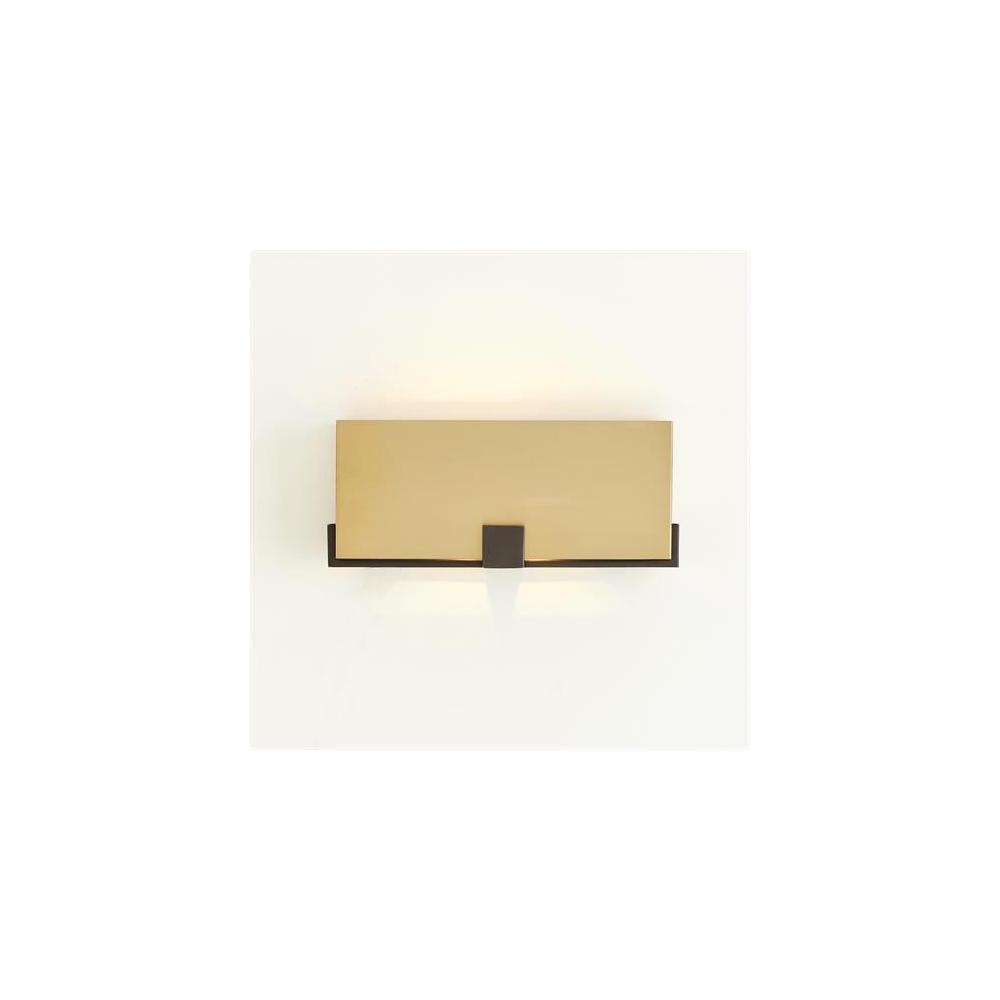 Empire Wall Sconce-Brass/Bronze-HW