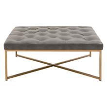 Rochelle Upholstered Square Coffee Table