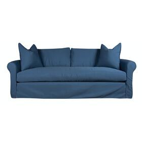 Slipcover Sofa, Luxury Depth