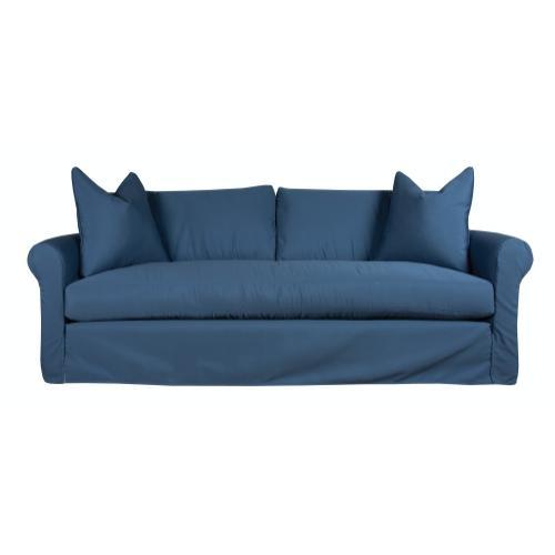 Roll Arm, Luxury Depth, Bench Seat, Slipcover Sofa.