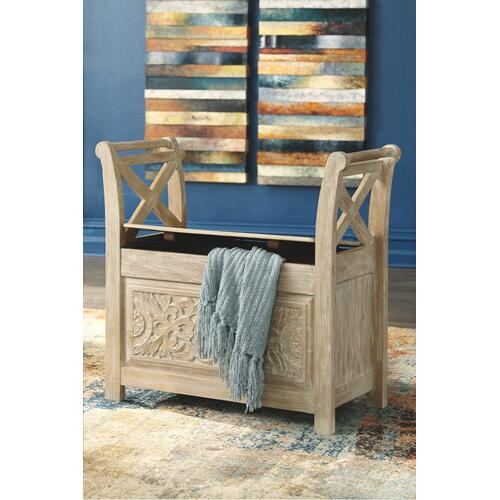 Signature Design By Ashley - Fossil Ridge Accent Bench