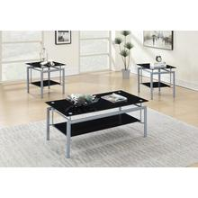 Vasko 3pc Coffee Table Set