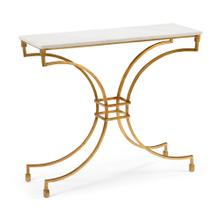 See Details - Kara Console Table - Gold
