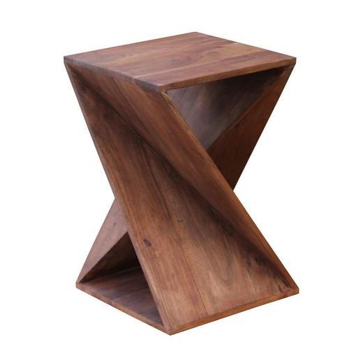Vander - Side Table - Brawny Acacia Finish