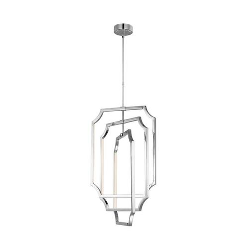 Audrie 6 - Light Chandelier Polished Nickel Bulbs Inc