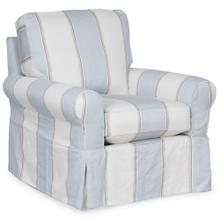 Product Image - Horizon Slipcovered Swivel Rocking Chair - Color 479541