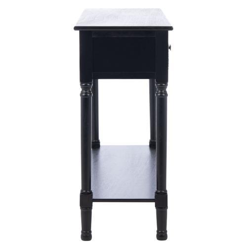 Safavieh - Halton 2 Drawer Console Table - Black