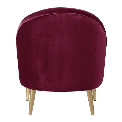 Elements - Trinity Accent Chair (gold stainless legs)
