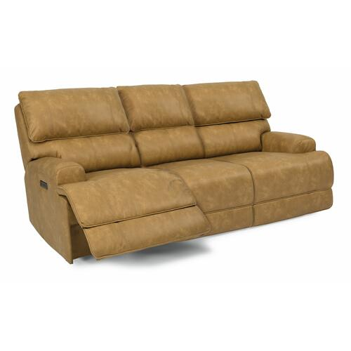 Flexsteel - Floyd Power Reclining Sofa with Power Headrests