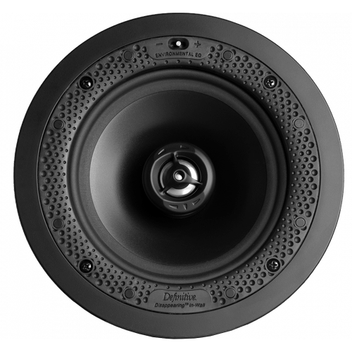 """Disappearing™ Series Round 6.5"""" In-Wall / In-Ceiling Speaker"""