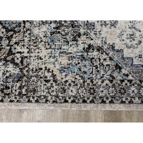 Sara C570 Grey Blue 8 x 11