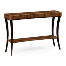Art Deco High Lustre Console Table