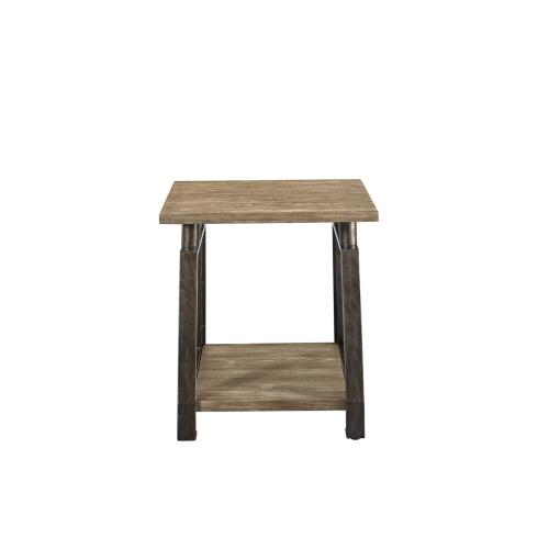 """Steve Silver Co. - Rochester End Table 23"""" x 23"""" x 24"""""""
