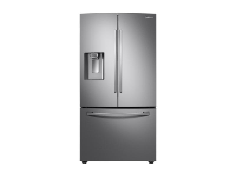 Samsung23 Cu. Ft. 3-Door French Door, Counter Depth Refrigerator With Coolselect Pantry™ In Stainless Steel