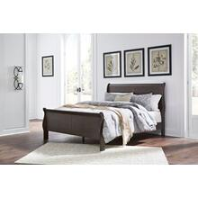 Leewarden Queen Sleigh Headboard/footboard