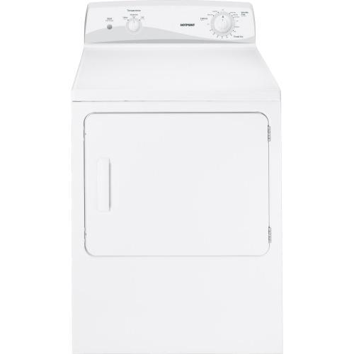 Hotpoint® 6.0 cu. ft. capacity Dura Drum electric dryer