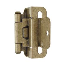 Self-closing, Partial Wrap 3/8 In (10 Mm) Inset hinge