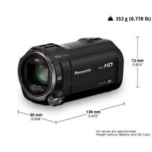 HC-V770 4K/HD Camcorders