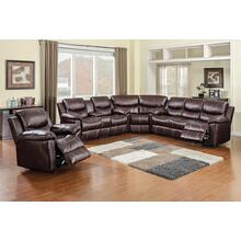 "3 PC Sectional w/ Power Sofa 132"" x 122"""