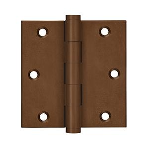 """Deltana - 3-1/2"""" x 3-1/2"""" Square Hinges"""