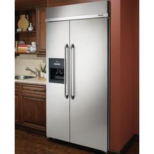 "48"" Built-In Refrigerator, in Stainless Steel"