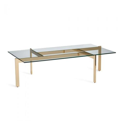Luc Cocktail Table - Polished Brass