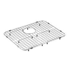 Moen stainless rear drain grid
