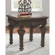 Charmond Square End Table Brown