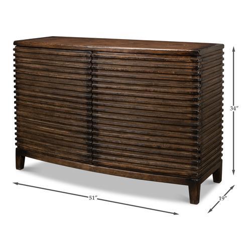 Ribbed Remington Cabinet