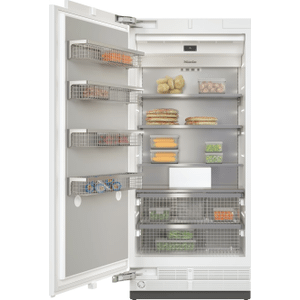 MieleF 2912 Vi - MasterCool™ freezer For high-end design and technology on a large scale.
