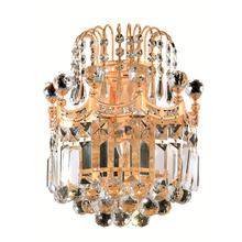 Corona Collection Wall Sconce Gold Finish 2Lt