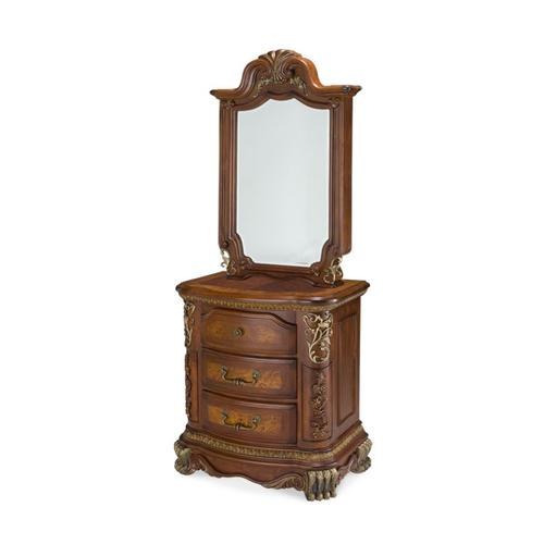 Nightstand and Mirror