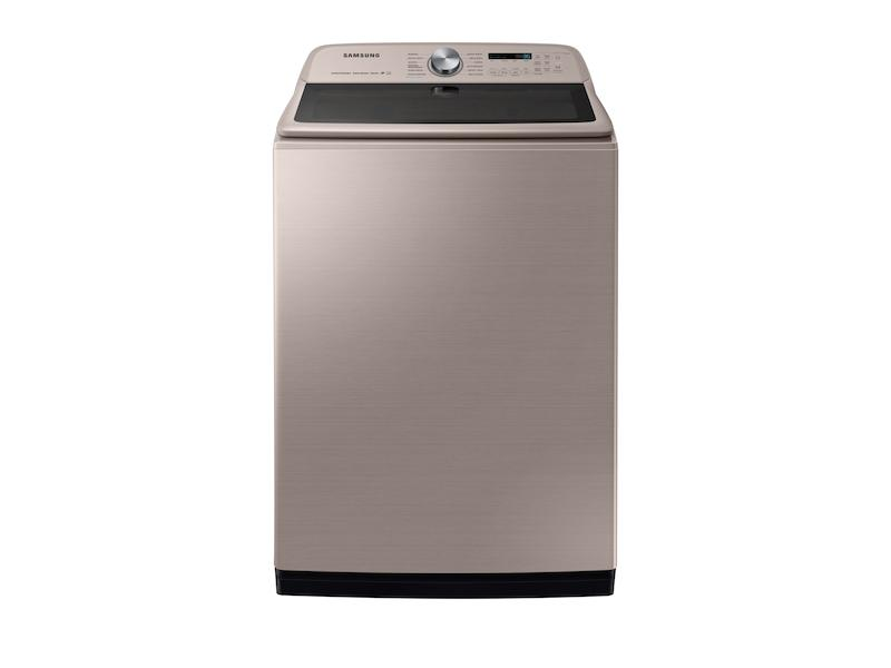 Samsung5.4 Cu. Ft. Top Load Washer With Super Speed In Champagne