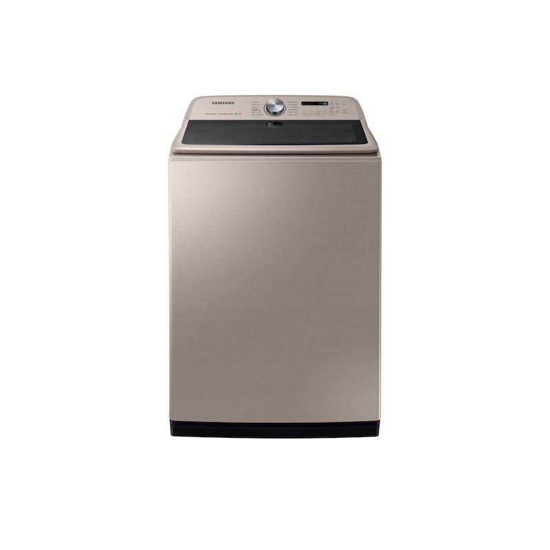 5.4 cu. ft. Top Load Washer with Super Speed in Champagne