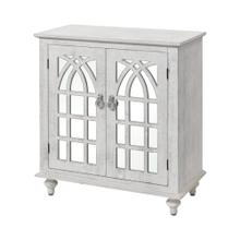Klein 2-door Cabinet In Distressed White