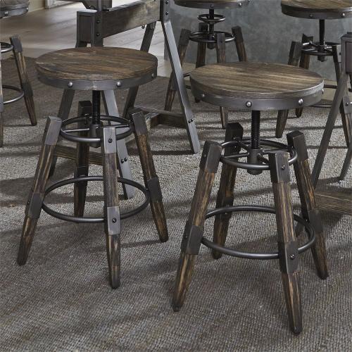 Liberty Furniture Industries - Adjustable Height Bar Stool (RTA)