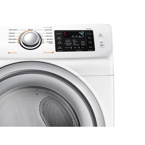 Samsung - DV5200 7.5 cu. ft. Gas Dryer