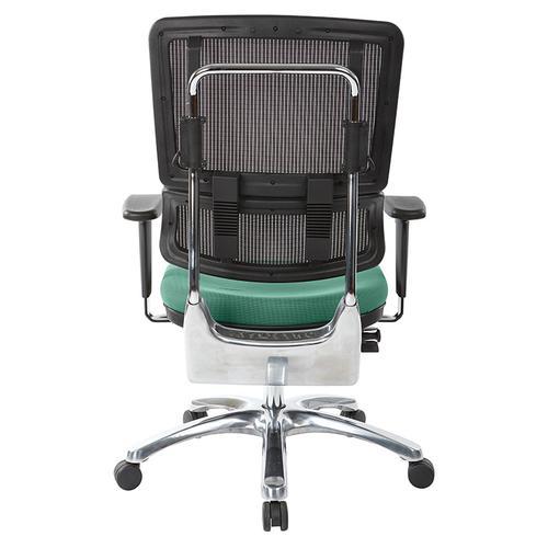 Office Star - Vertical Black Mesh Back Chair