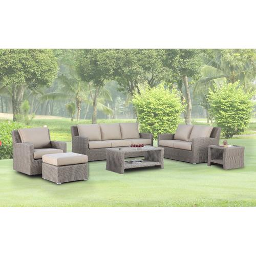 Emerald Home Mears Outdoor End Table Mixed Gray Ot1237-01