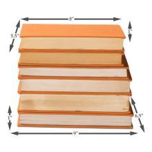 Product Image - Orange Linen Books, Set Of 6