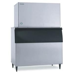 KM-1601SRJ3 with URC-22F, Crescent Cuber Icemaker, Remote-cooled, 3 Phase