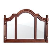 Savannah Deluxe Bureau Mirror, Large