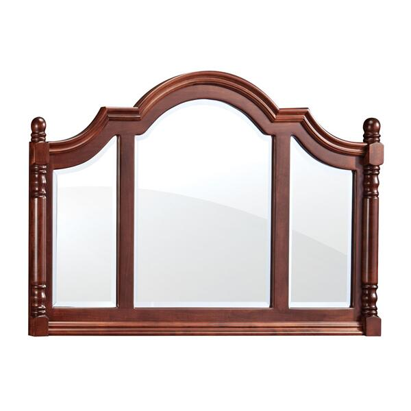 Savannah Deluxe Bureau Mirror, Large