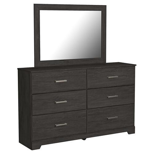 B2589 2PC SET:  Dresser and Mirror (Belachime)