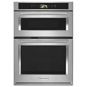 "KITCHENAIDSmart Oven+ 30"" Combination Oven with Powered Attachments - Stainless Steel"