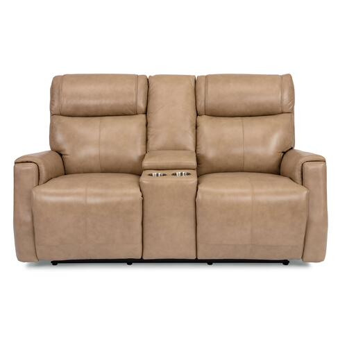 - Holton Power Reclining Loveseat with Console and Power Headrests